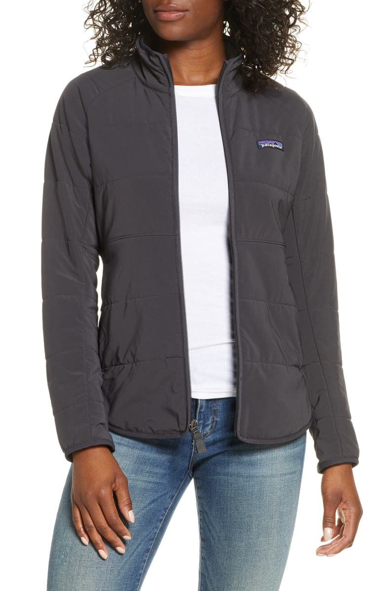 PATAGONIA Pack In Insulated Jacket, Main, color, 001