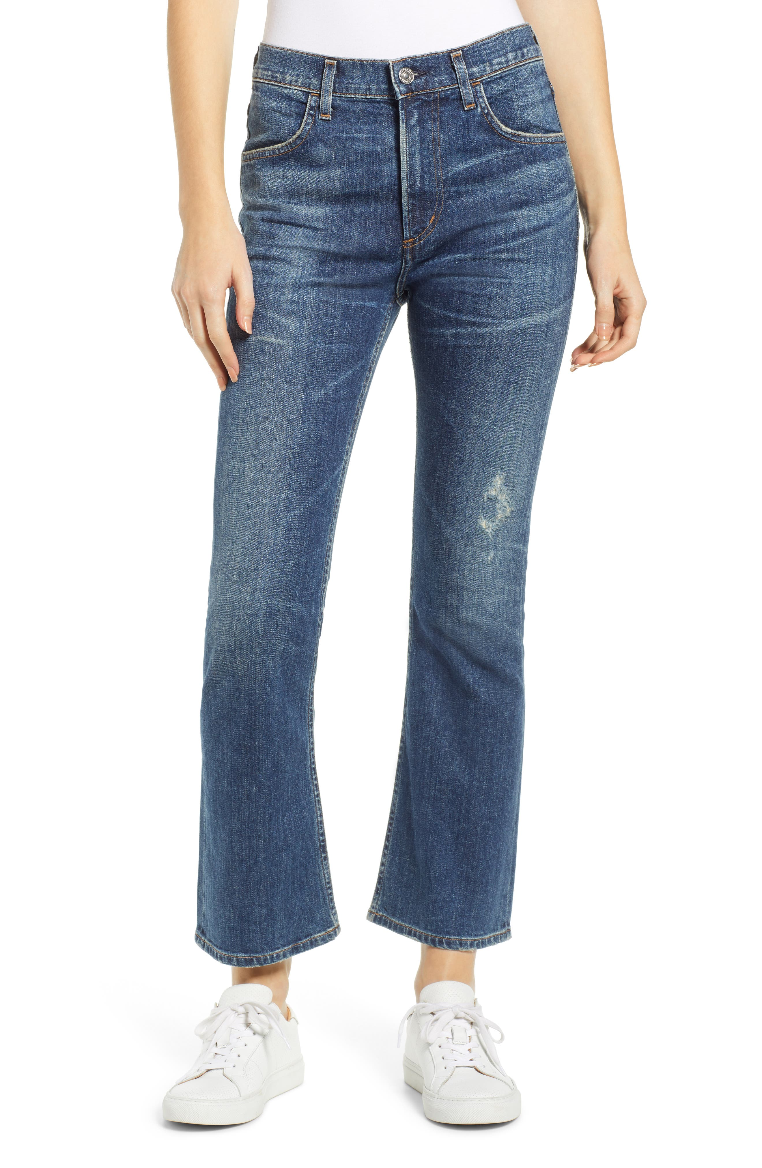 Image of Citizens Of Humanity Drew Crop Flare Jeans