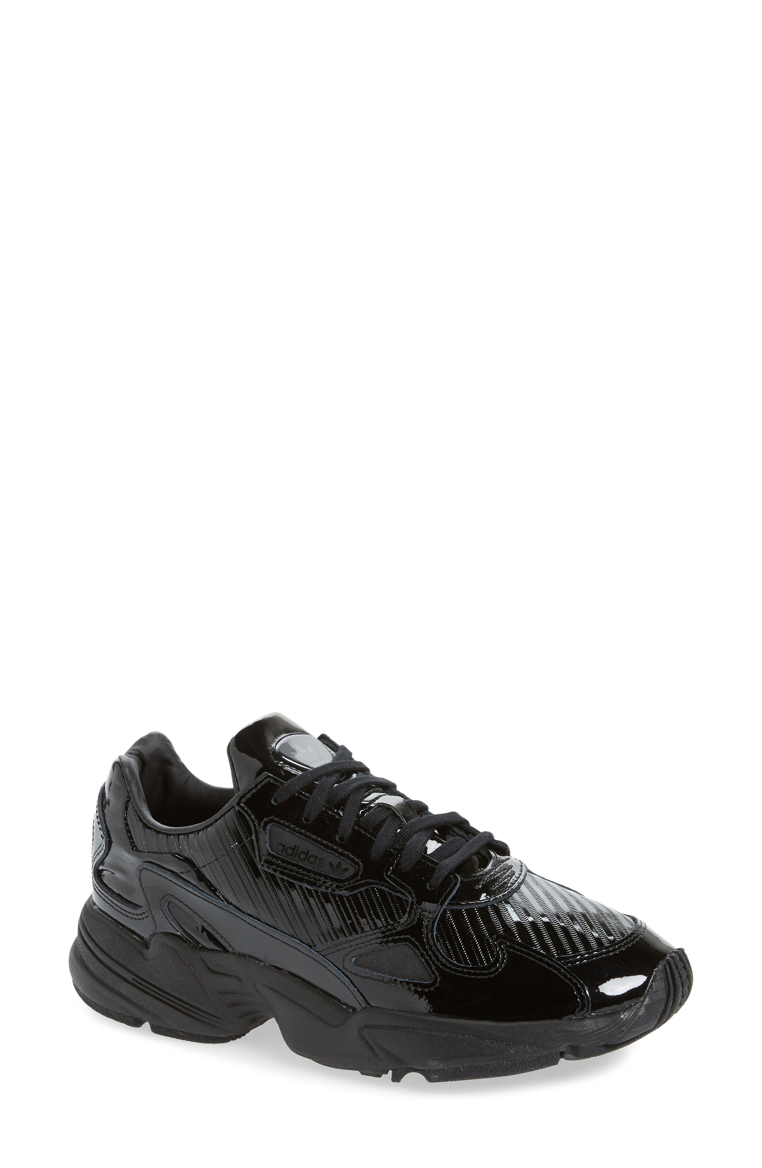 Adidas Falcon Out Loud Sneakers, Black
