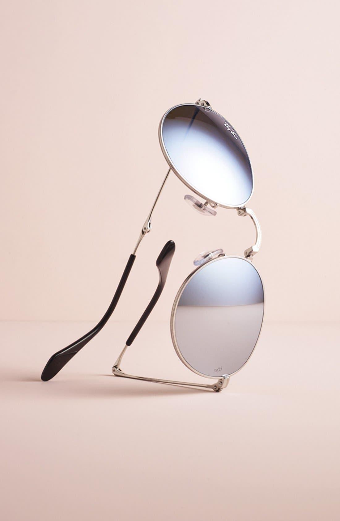 ,                             Icons 50mm Folding Sunglasses,                             Alternate thumbnail 4, color,                             454