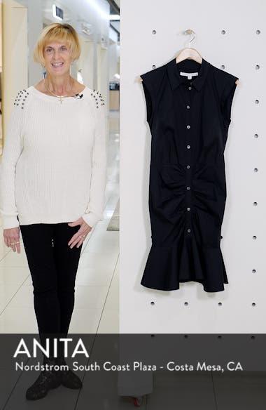 Flare Hem Ruched Shirtdress, sales video thumbnail