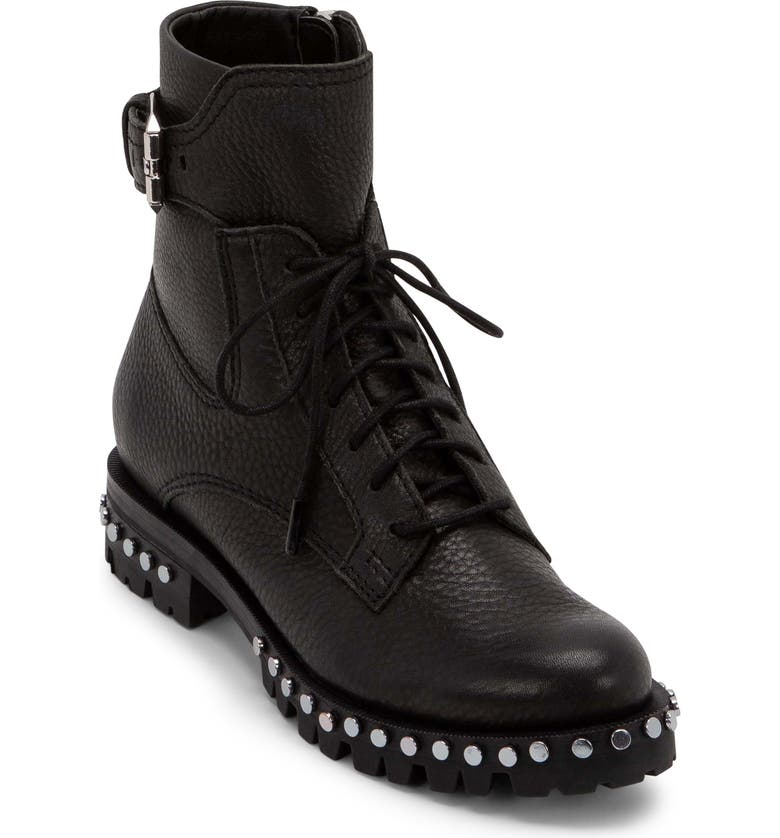 DOLCE VITA Prest Lace-Up Boot, Main, color, 001