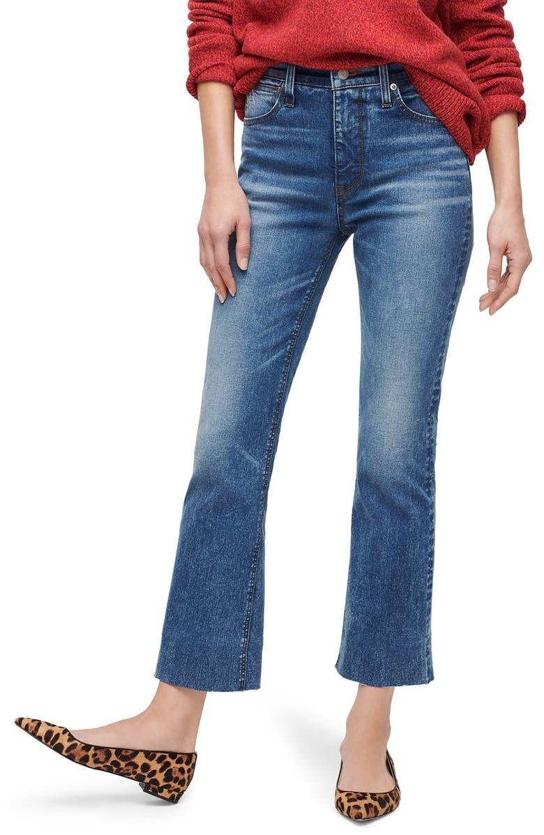 J.CREW Demi-Boot Jeans, Main, color, 400