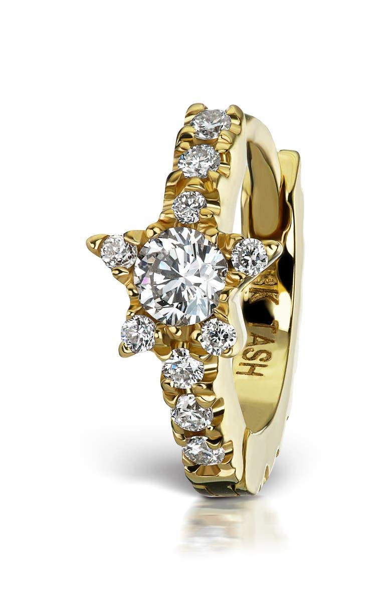 MARIA TASH Diamond Star Eternity Clicker, Main, color, YELLOW GOLD/ DIAMOND