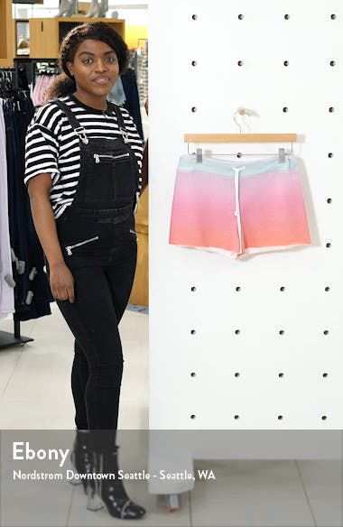 Kassidy Island Ombré Shorts, sales video thumbnail