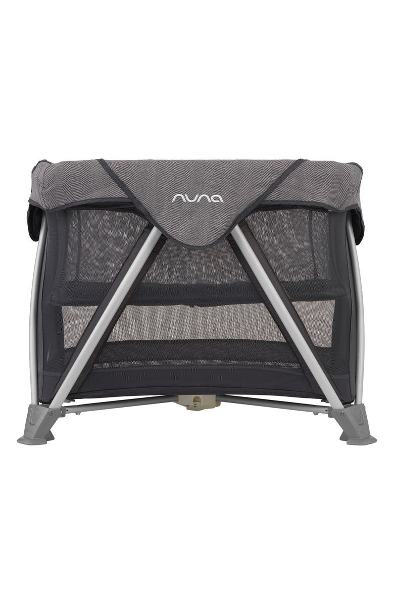 NUNA SENA<sup>™</sup> Aire Mini Travel Crib, Main, color, IRON