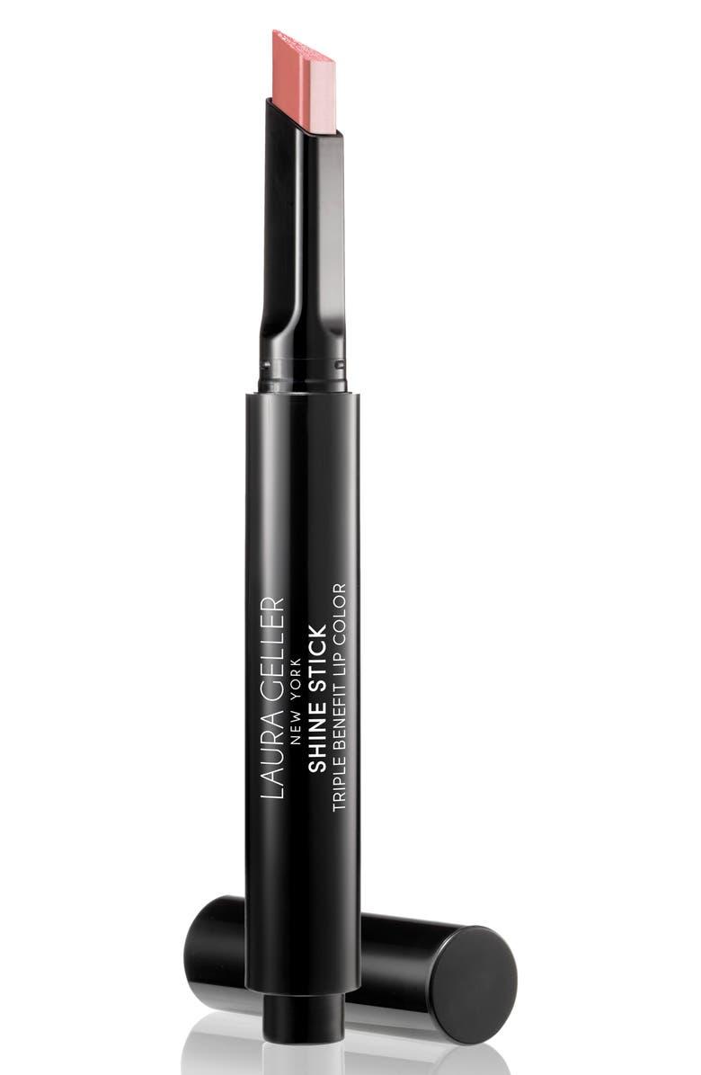 LAURA GELLER BEAUTY Shine Stick Triple Benefit Lip Color, Main, color, 250
