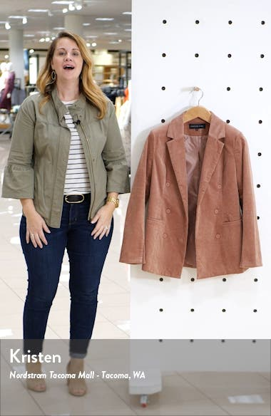 Corduroy Double Breasted Jacket, sales video thumbnail