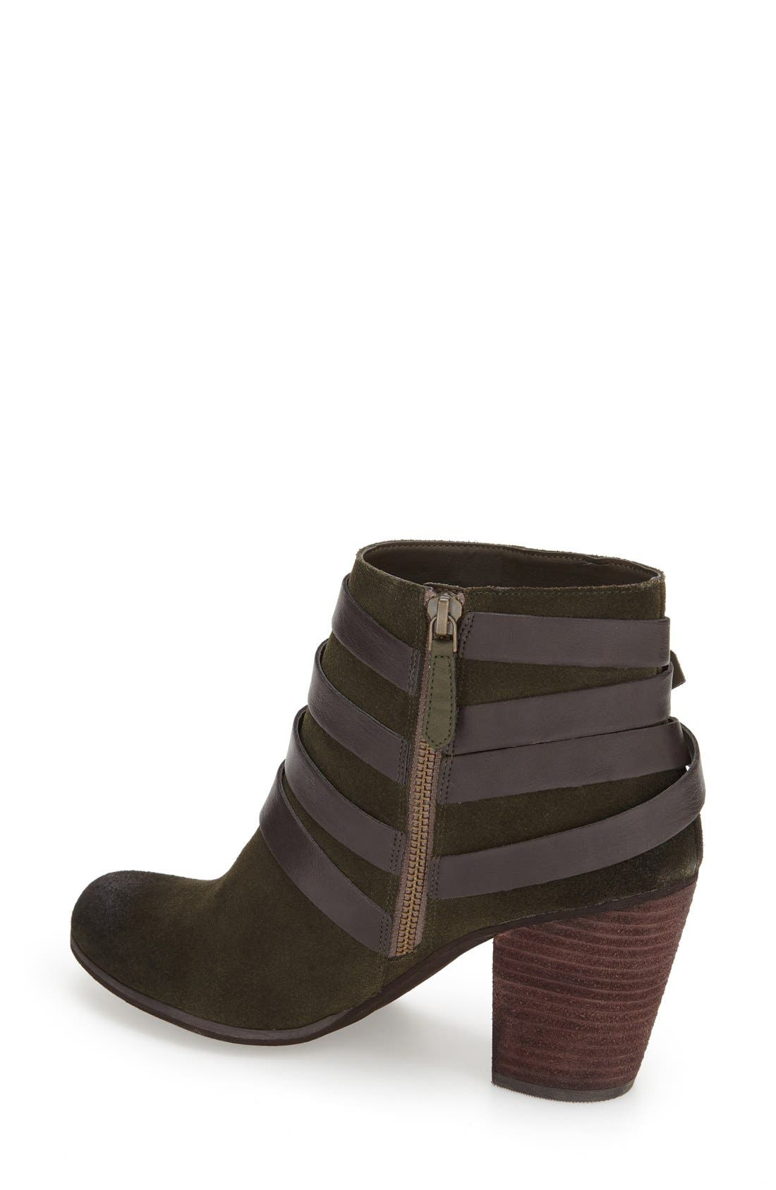 ,                             'Train' Wrap Belted Bootie,                             Alternate thumbnail 28, color,                             360