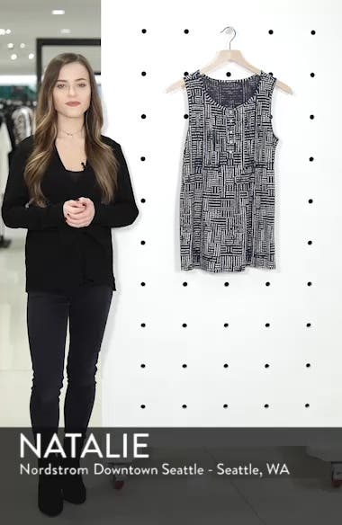 Pintuck Knit Tank, sales video thumbnail