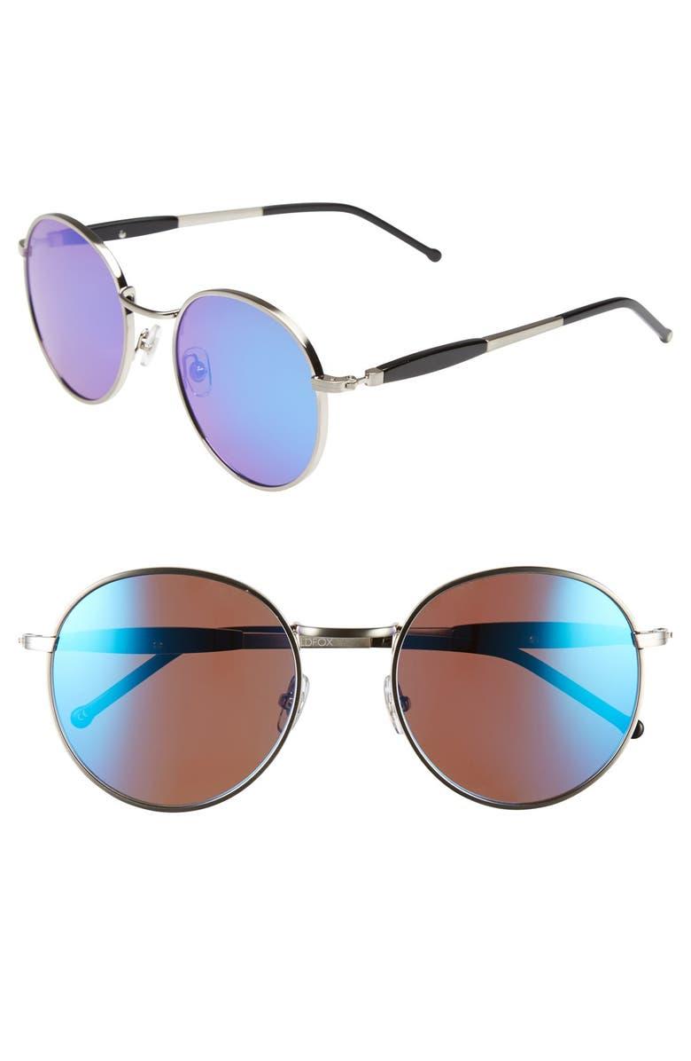 WILDFOX 'Dakota Deluxe' 52mm Retro Sunglasses, Main, color, 040