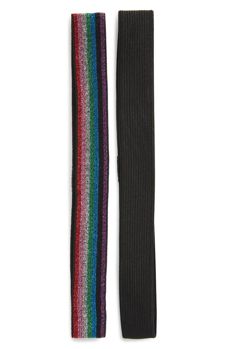 TASHA Rainbow Head Wrap, Main, color, RAINBOW