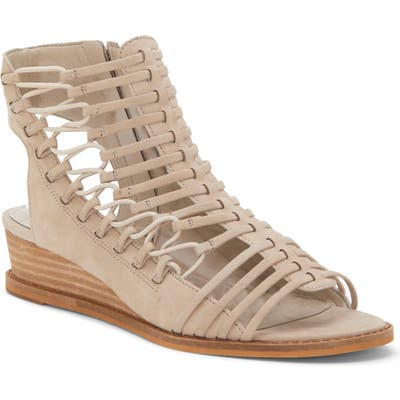 Vince Camuto Romera Gladiator Sandal- Grey