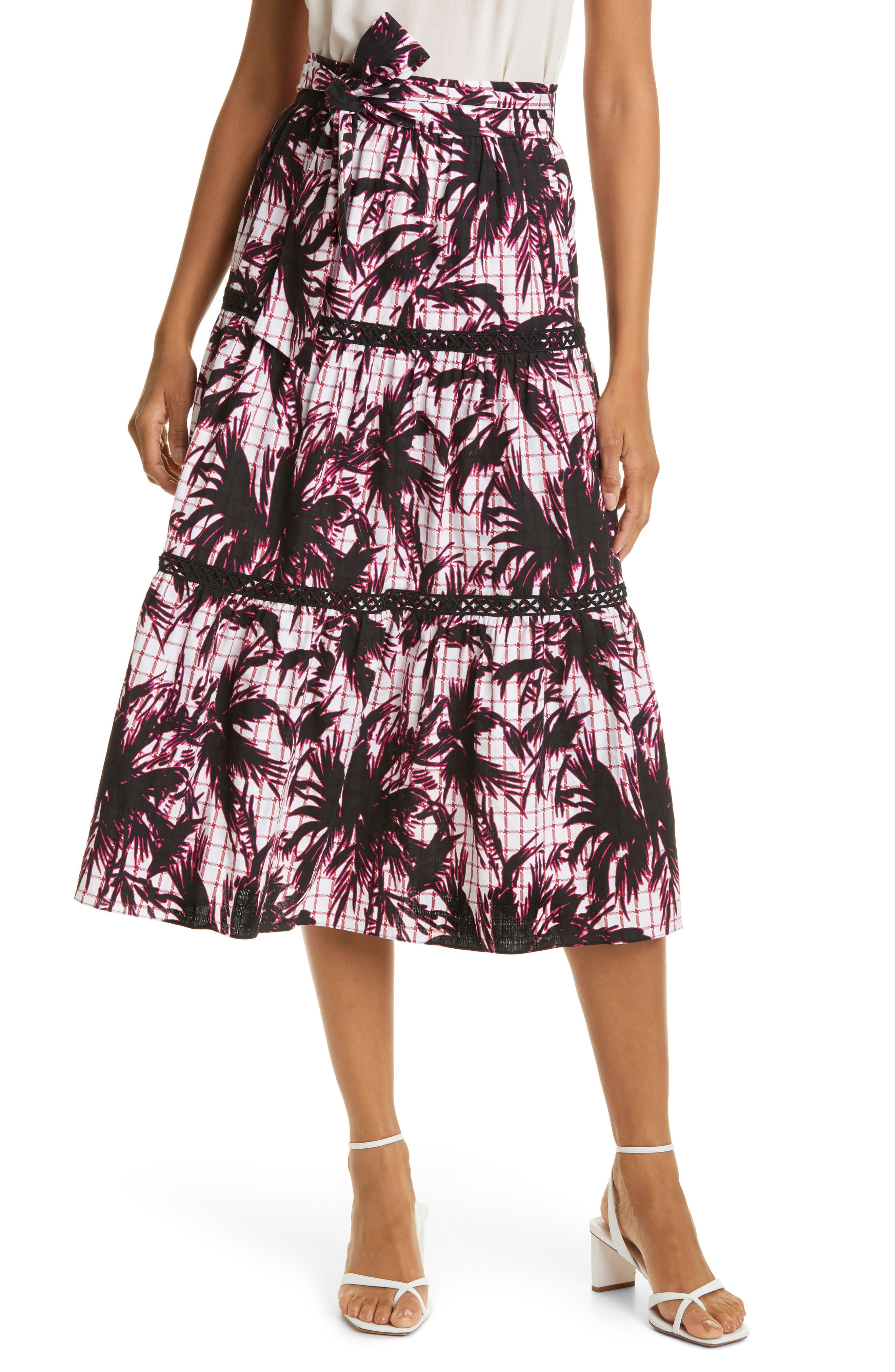 Lucia Print Skirt