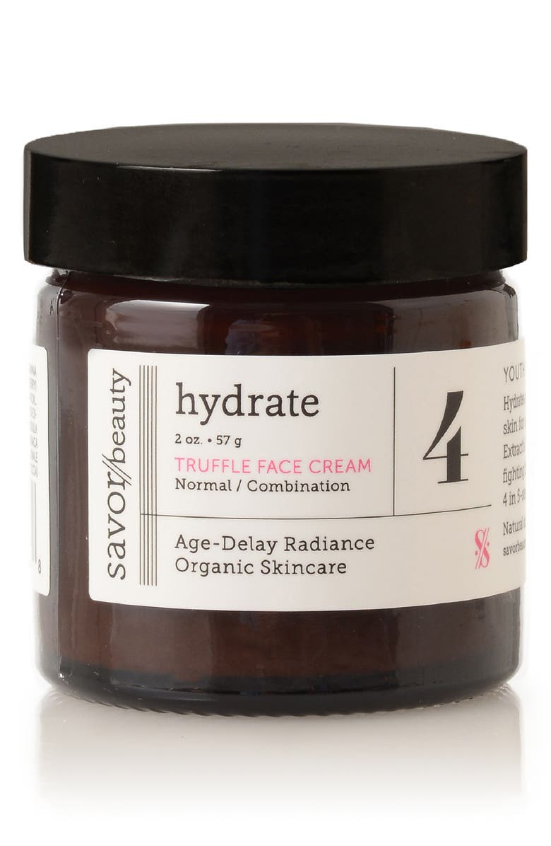 SAVOR BEAUTY Hydrate Truffle Face Cream, Main, color, 000