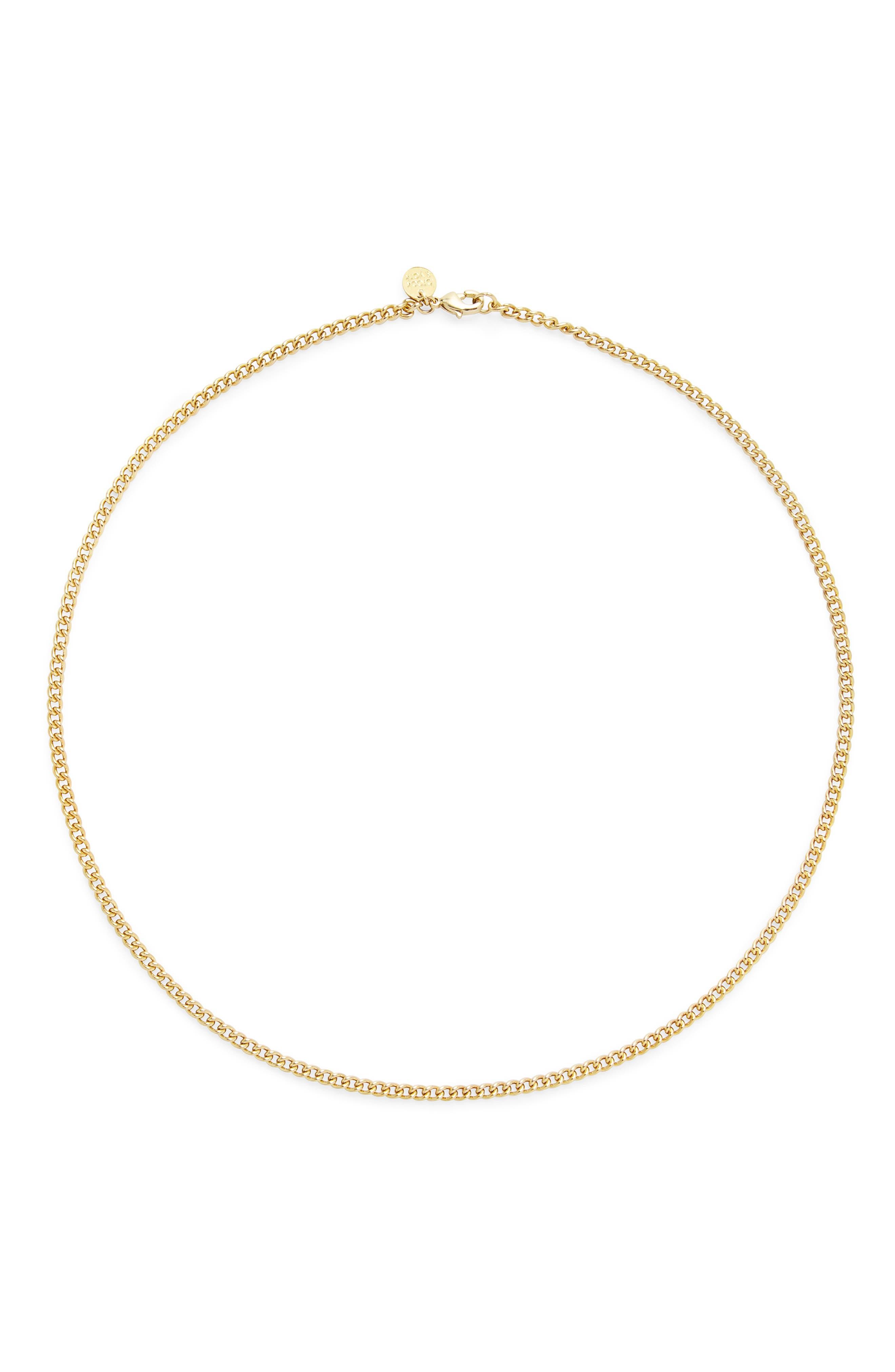 Stella Curb Chain Necklace