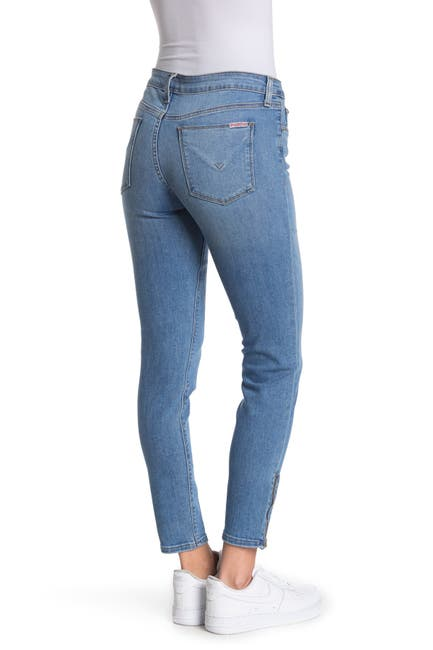 Image of HUDSON Jeans Krista Low Rise Ankle Zip Skinny Jeans