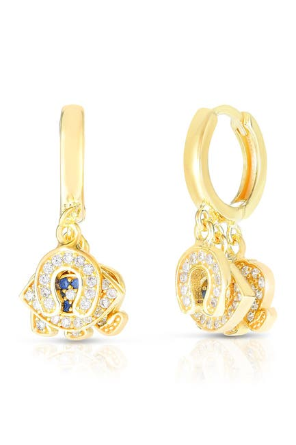Image of Sphera Milano 14K Gold Plated Sterling Silver Charm Earrings