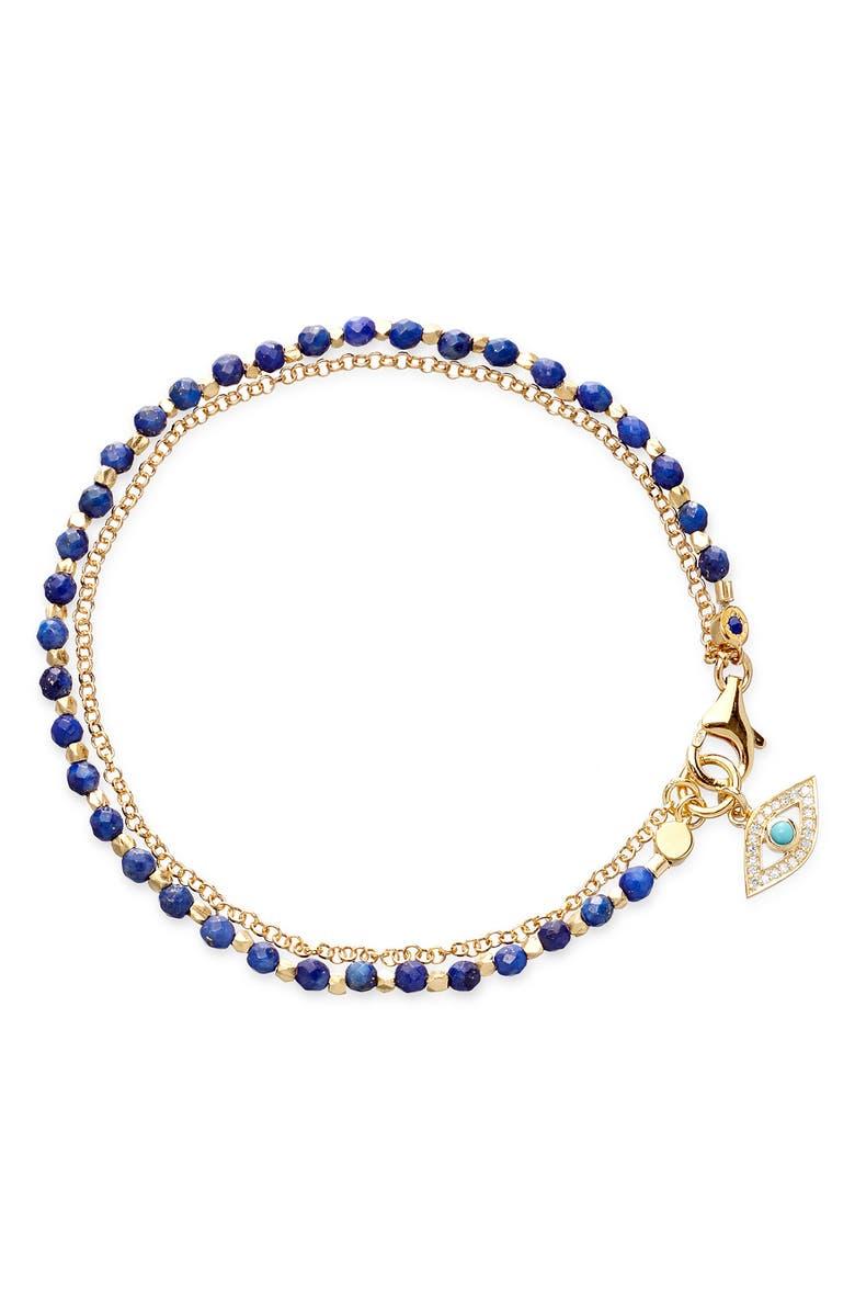 ASTLEY CLARKE Evil Eye Biography Bracelet, Main, color, YELLOW GOLD