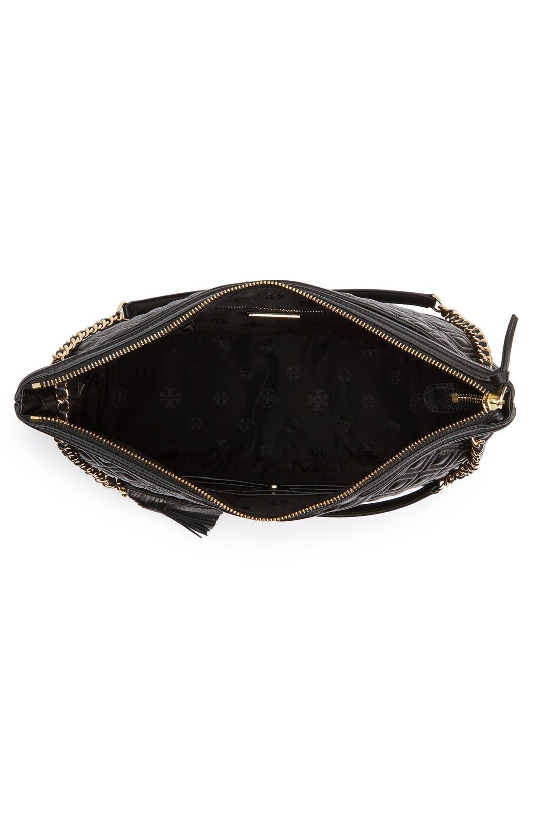 ,                             'Fleming' Leather Shoulder Bag,                             Alternate thumbnail 5, color,                             012