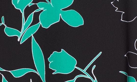BLACK- GREEN P OUTLINE FLR