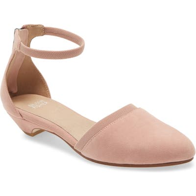 Eileen Fisher Ivie Ankle Strap Pump, Pink