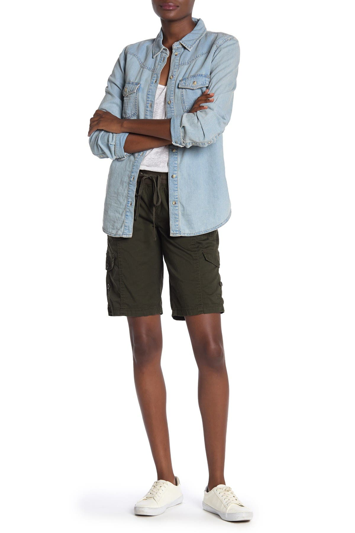 Image of SUPPLIES BY UNIONBAY Betsey Bermuda Shorts