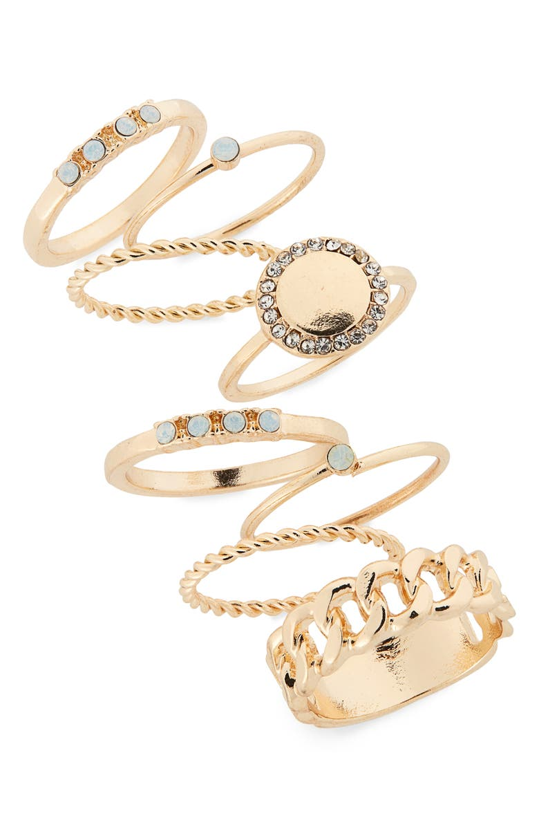 Set Of 8 Stacking Rings by Bp.