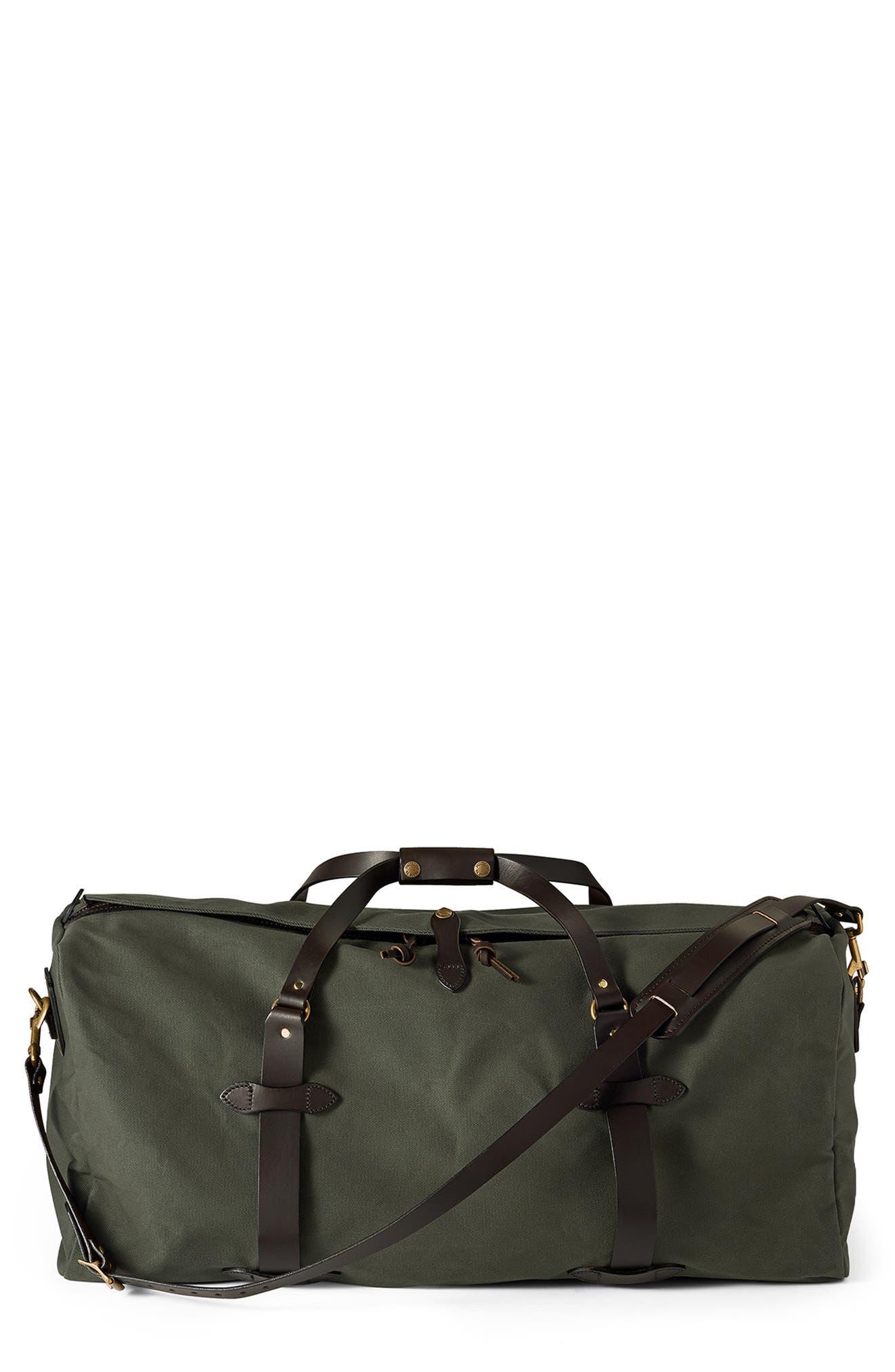 Large Cotton Duffle Bag