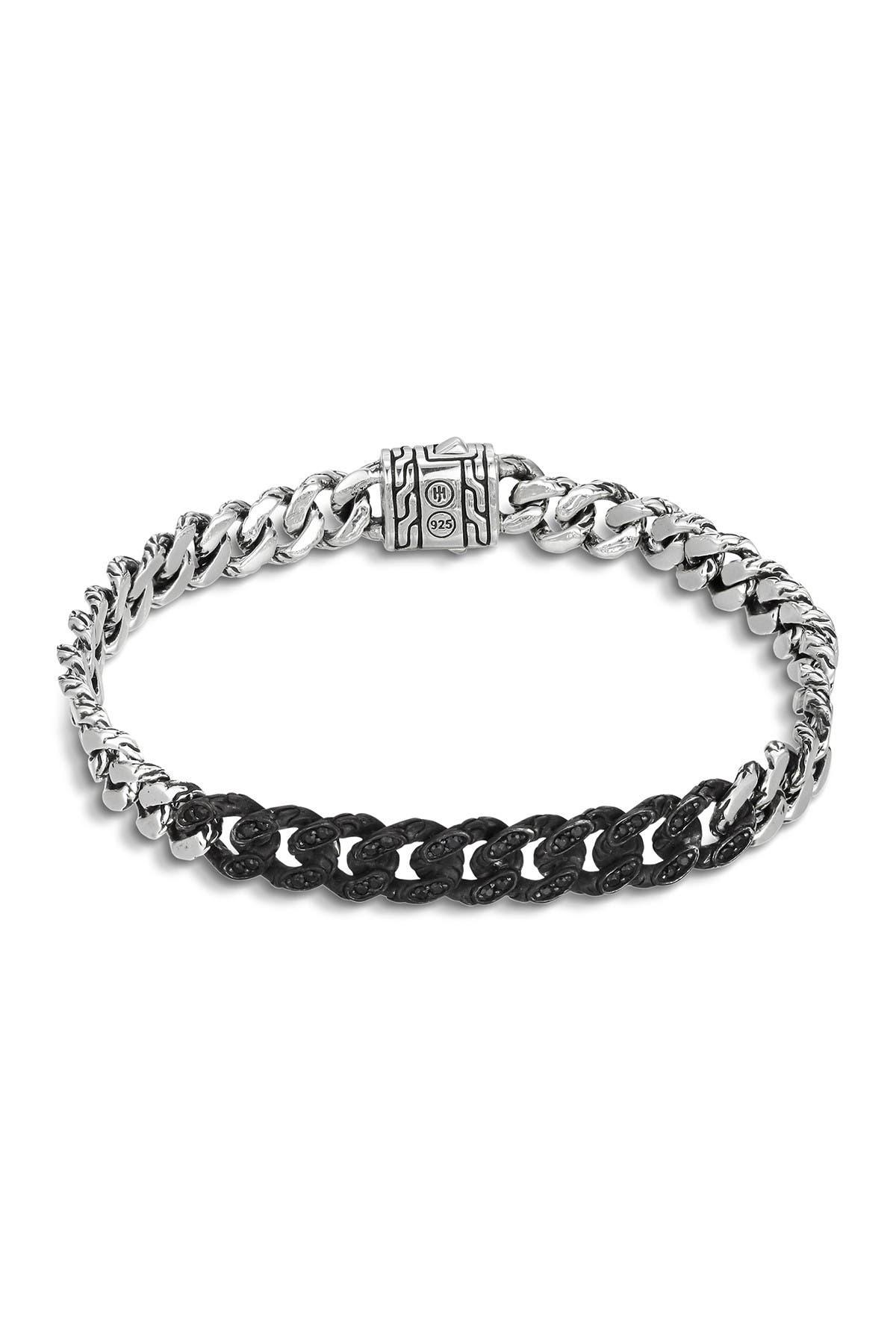 Image of JOHN HARDY Men's Sterling Silver Chain Gourmette Bracelet