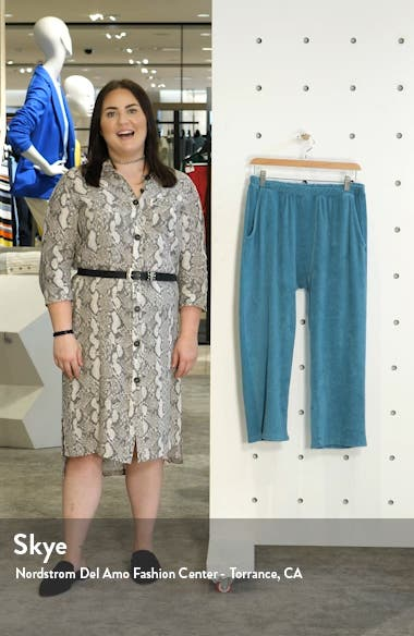 The Micro Terry Pajama Sweatpants, sales video thumbnail