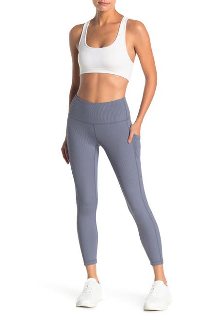 Image of Z By Zella Daily High Waist Ribbed Pocket Leggings