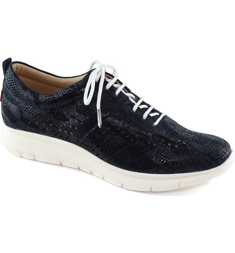 MARC JOSEPH NEW YORK Grand Central 2 Sneaker, Main, color, NAVY LEATHER