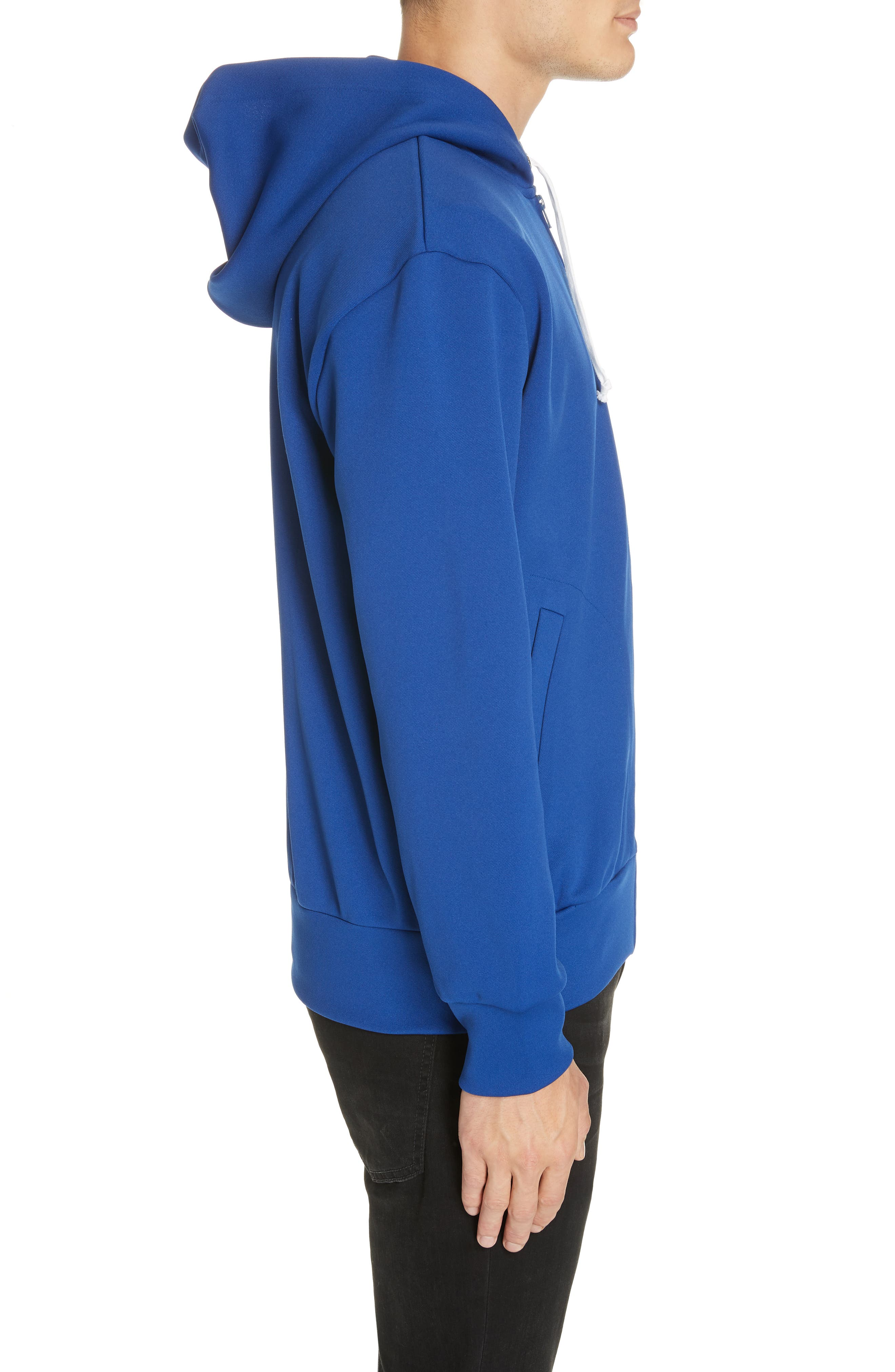 ,                             Zip-Up Hoodie,                             Alternate thumbnail 3, color,                             NAVY