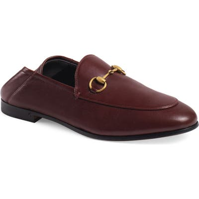 Gucci Convertible Loafer, Burgundy