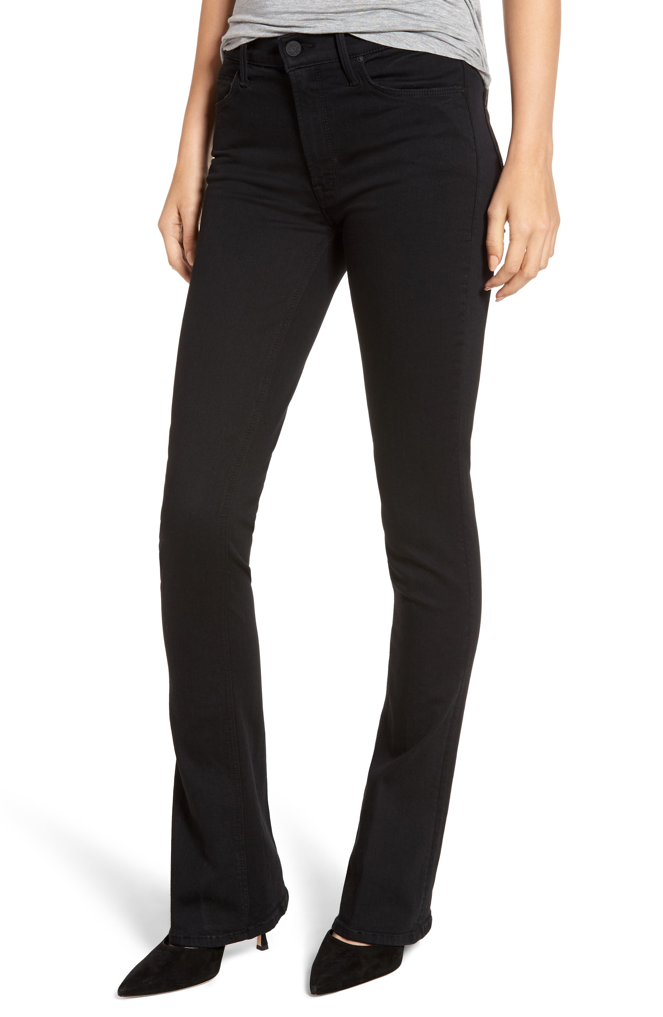 Image of MOTHER The Runaway Skinny Flare Jeans