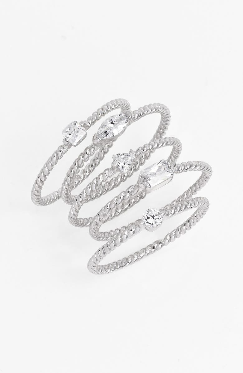ARIELLA COLLECTION Stackable Rings, Main, color, 040