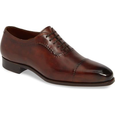 Magnanni Camilo Cap Toe Oxford, Brown
