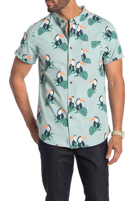 Image of PARTY PANTS Tou Cannes Short Sleeve Hawaiian Shirt