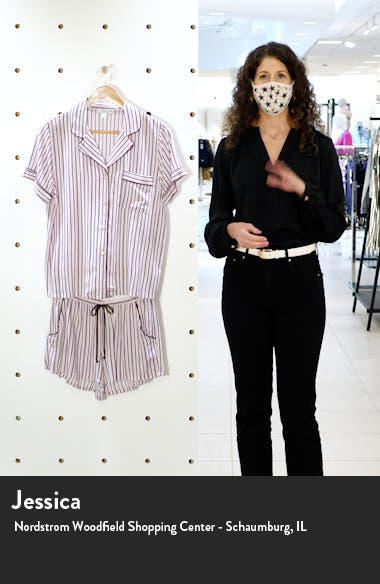 Beautiful Dreamer Stripe Short Pajamas, sales video thumbnail