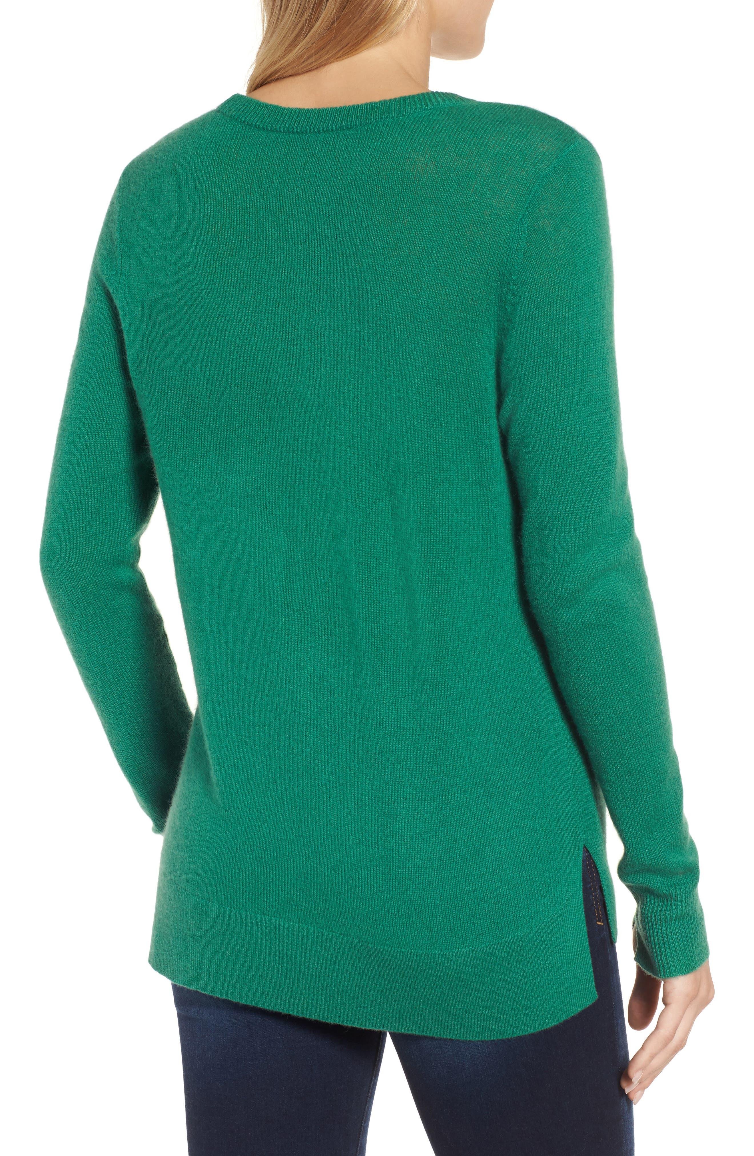 ,                             Crewneck Cashmere Sweater,                             Alternate thumbnail 73, color,                             300