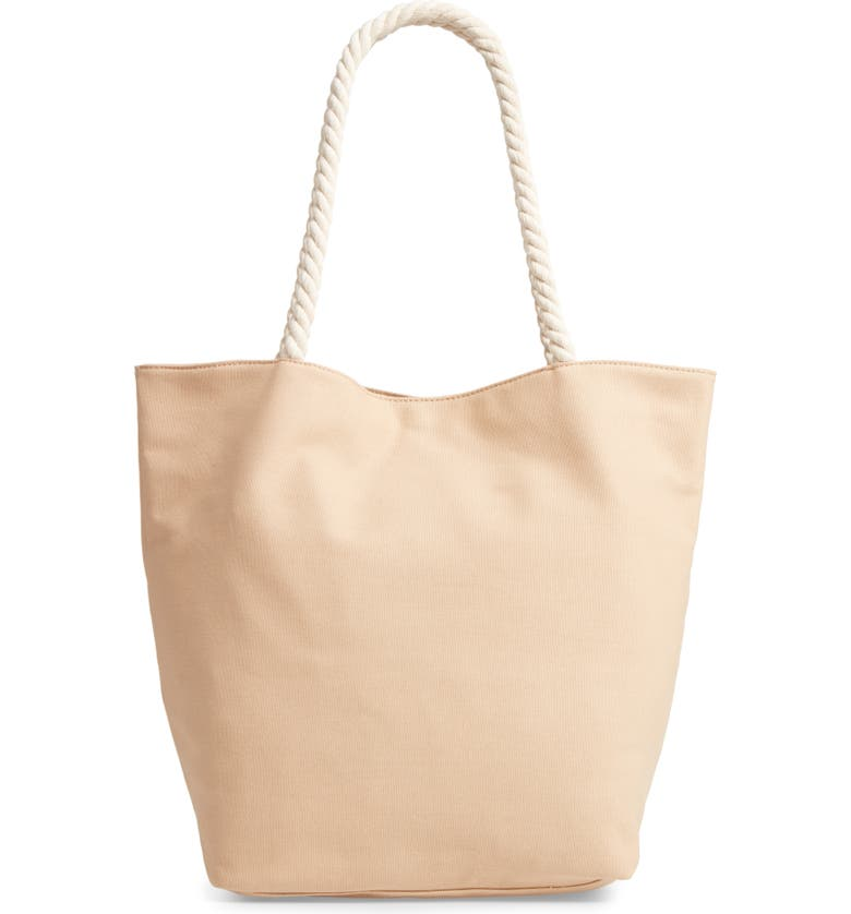 99082a92c Rope Handle Canvas Tote, Main, color, 250
