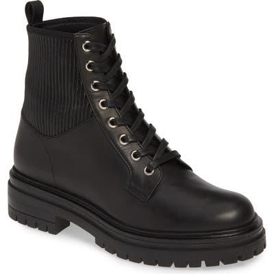 Gianvito Rossi Combat Boot - Black