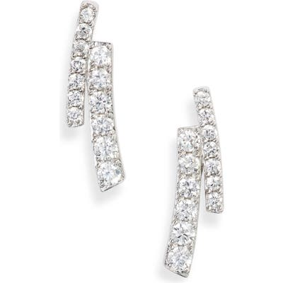 Nadri Ripple Split Line Earrings