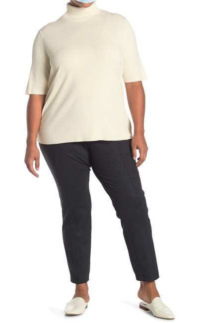 Image of Anne Klein Melange Twill Leggings