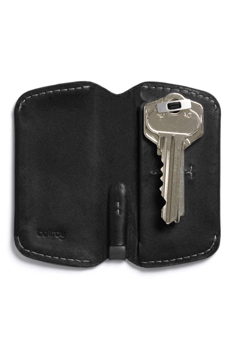 BELLROY Leather Key Cover, Main, color, 001