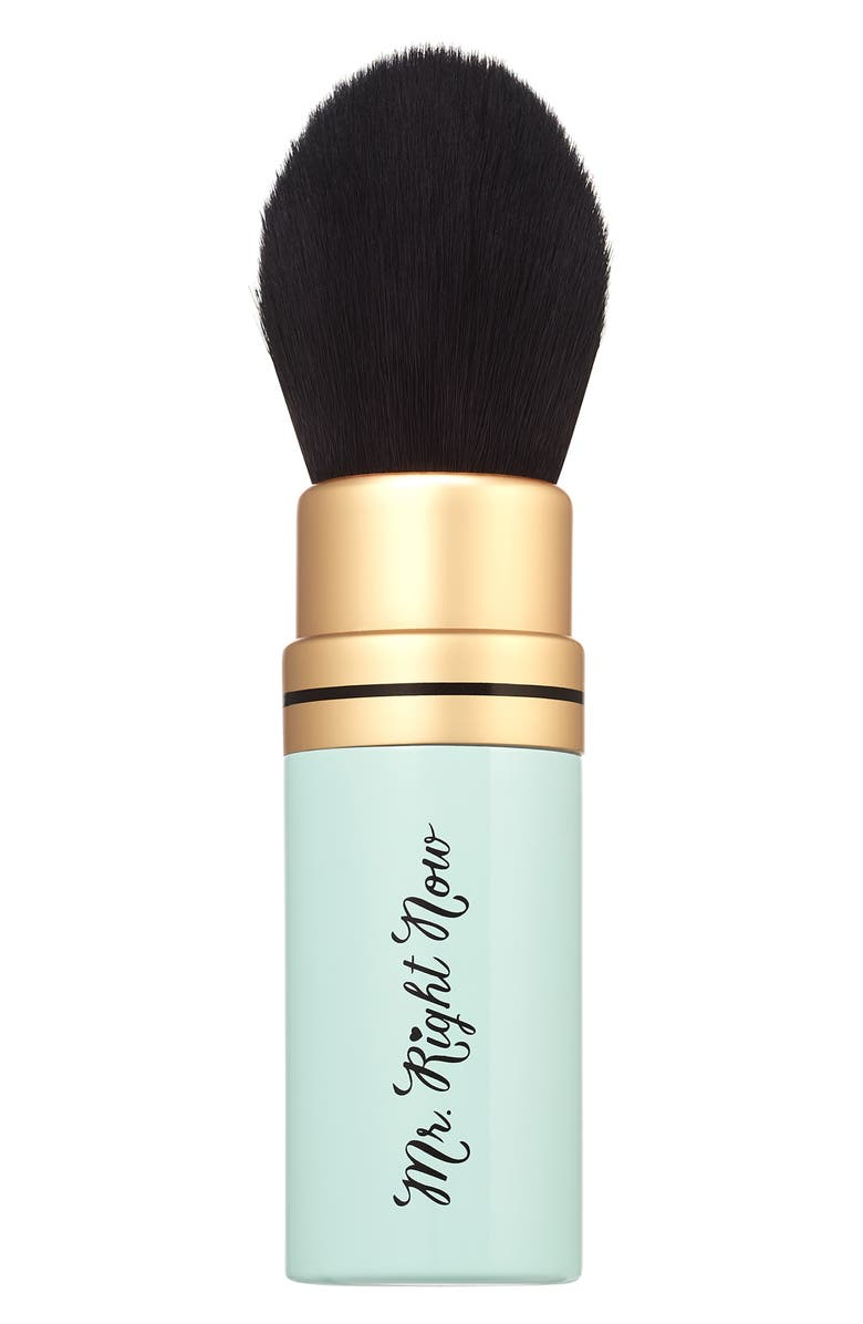 TOO FACED Mr. Right Now Retractable Makeup Brush, Main, color, NO COLOR