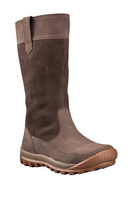 Image of Timberland Mt. Hayes Waterproof Leather Pull-On Boot