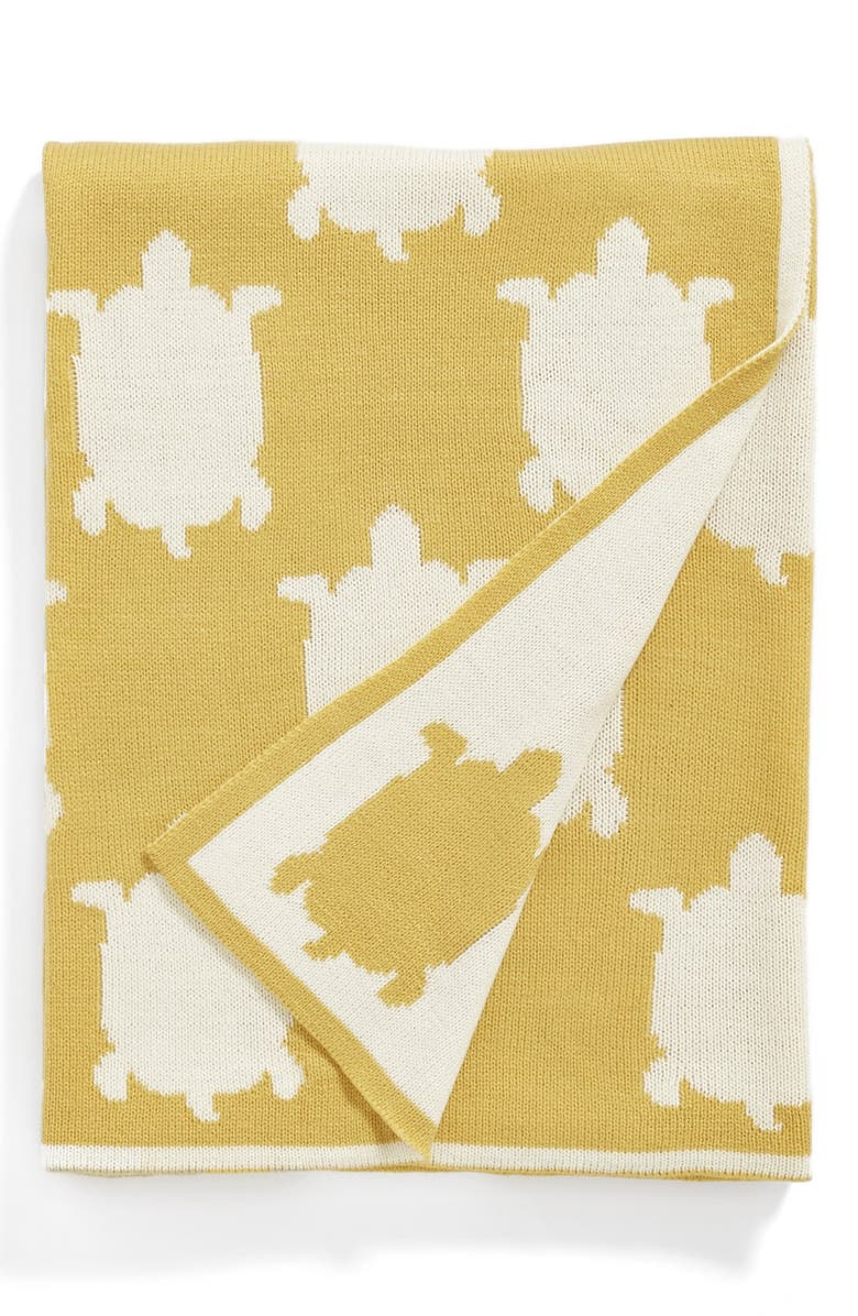 NORDSTROM at Home 'Turtle Icon' Throw, Main, color, 700