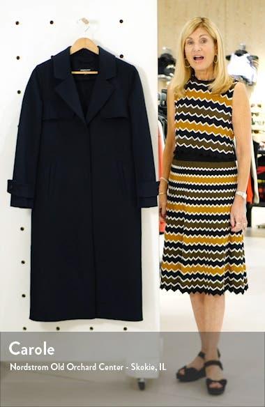 Double Face Wool Blend Coat, sales video thumbnail